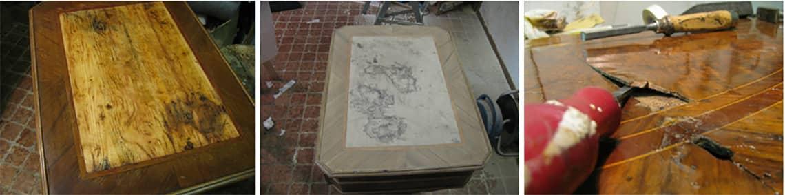 Eccezionale Restauro mobili antichi Milano da Ghilli restauratori DH53