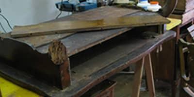 Restauro mobili antichi milano da ghilli restauratori for Regalo mobili antichi