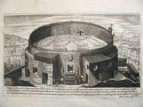 Sadeler, Mausoleo di Augusto
