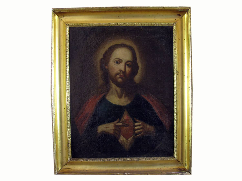 Coppia di Quadri Antichi Religiosi   Ghilli Antiquariato a Milano -> Lampadari Antichi Da Restaurare