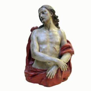 Scultura Antica Religiosa Ecce Homo