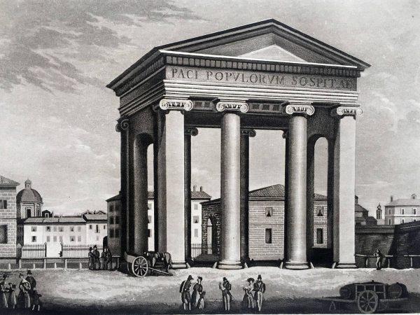 Arco di Porta Ticinese in Milano