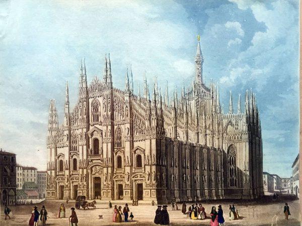 Il Duomo di Milano, 1840