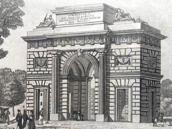 Porta Comasina a Milano