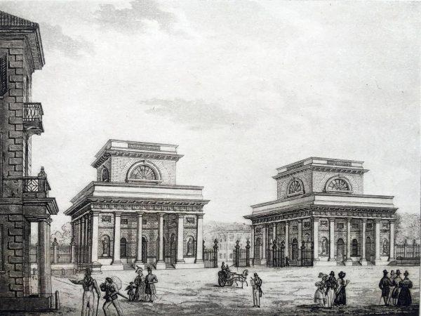 Barriera di Porta Orientale, 1840 circa