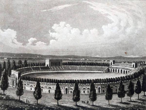 Veduta generale dell'Arena in Milano