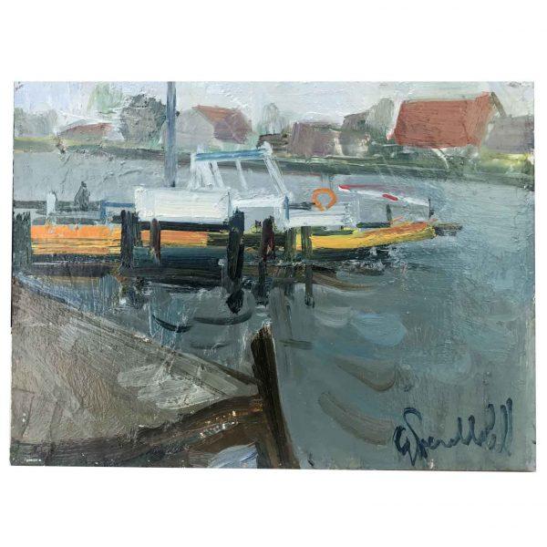 Perelli Cippo, Veduta di un canale ad Amsterdam