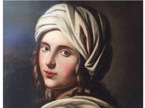 Ritratto di donna con turbante