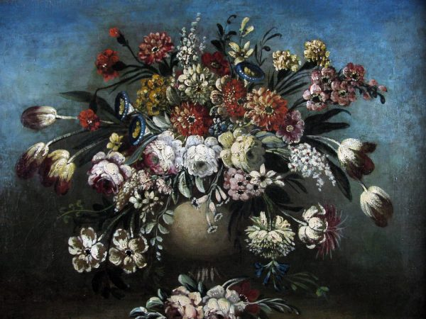 18th Century Italian Still Life of Flowers