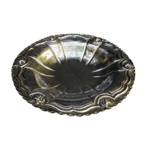Centrotavola in argento