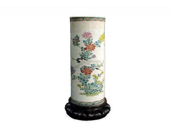 Vaso in ceramica giapponese
