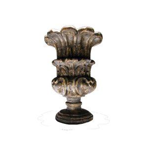 vaso-legno-intagliato-e-argentato-