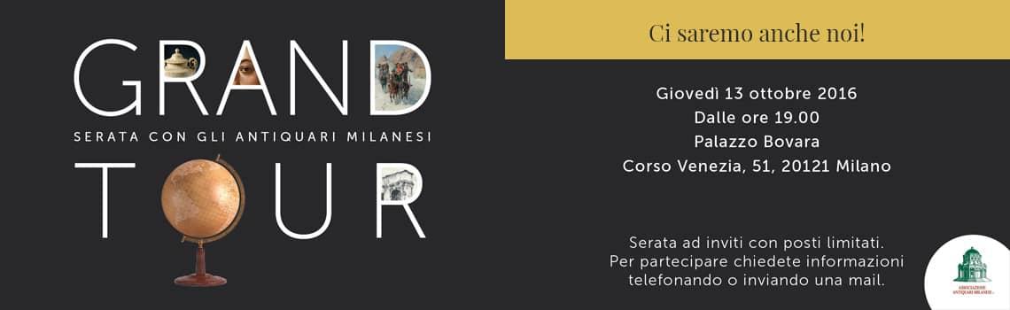 Grand tour serata con gli antiquari milanesi ghilli for Antiquari a milano