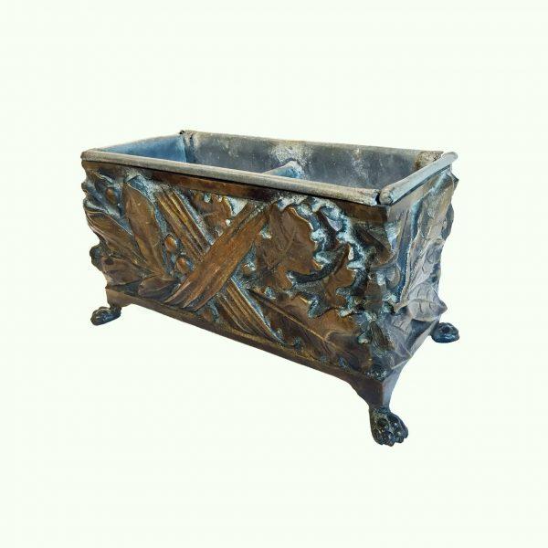 Early 20th century Cast Bronze Planter Box