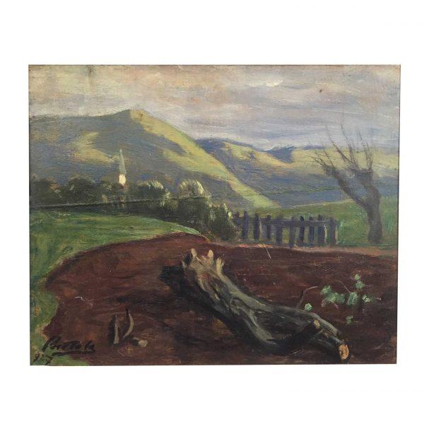 F. Scattola, Paesaggio, 1927