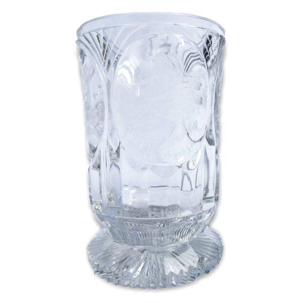 Bicchiere Biedermeier in Cristallo