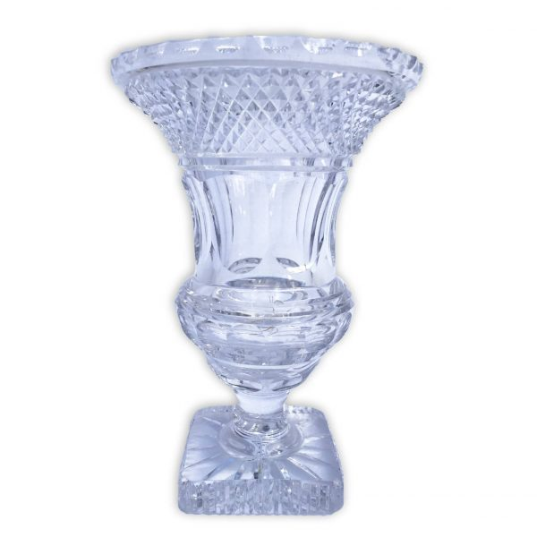 Vaso da Fiori in Cristallo Molato