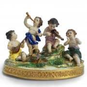 gruppo in porcellana