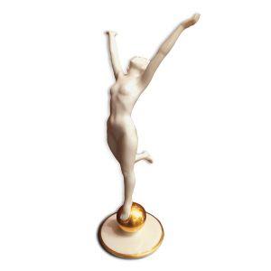 Ballerina Art Decò in Porcellana Hutschenreuther 2