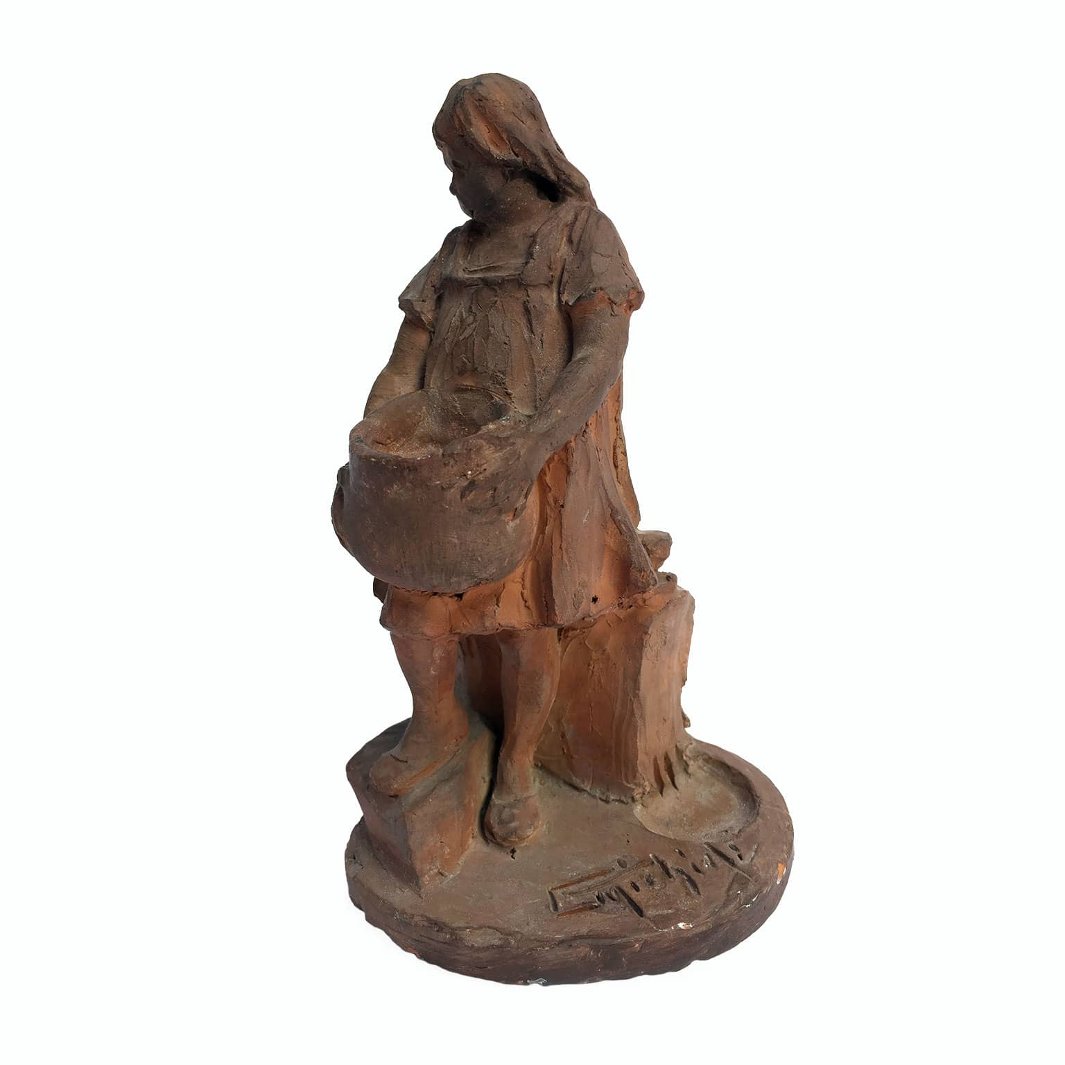 Michieli Guglielmo Scultura in Terracotta inizi 1900