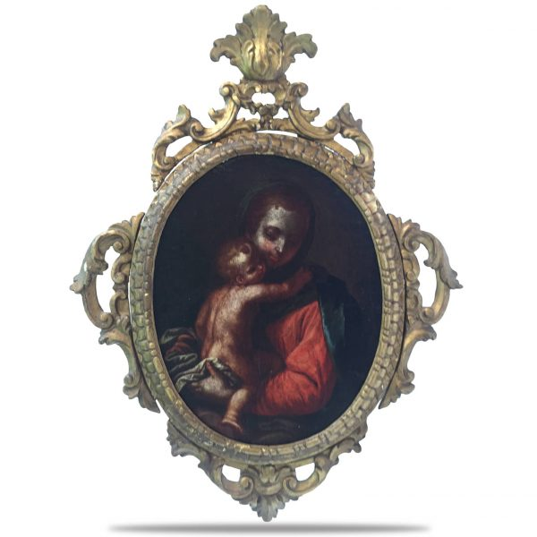 18th Century VIrgin With Child