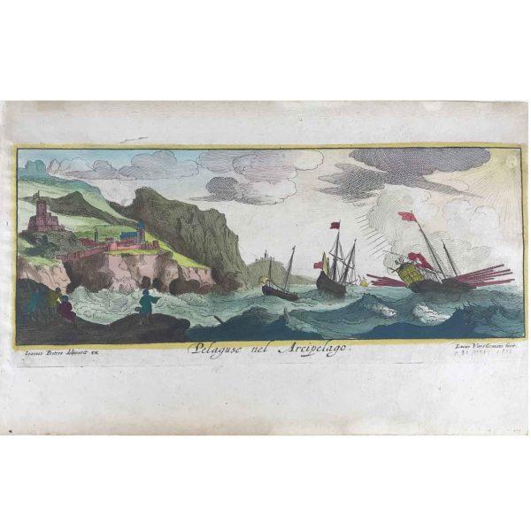 J. Peeters, Pelaguse nel Arcipelago, 1650 ca.