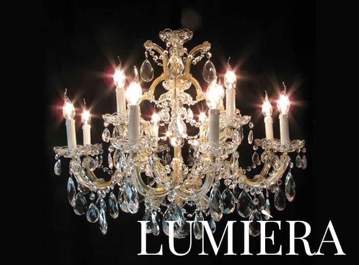 lampadari antichi mostra lumiera