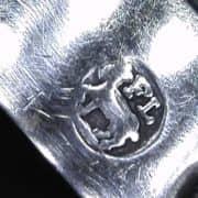 coppia di candelieri in argento 10