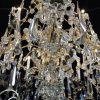 Grande Lampadario Antico in Cristallo 10