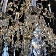 Grande Lampadario Antico in Cristallo 3