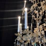 Grande Lampadario Antico in Cristallo 6
