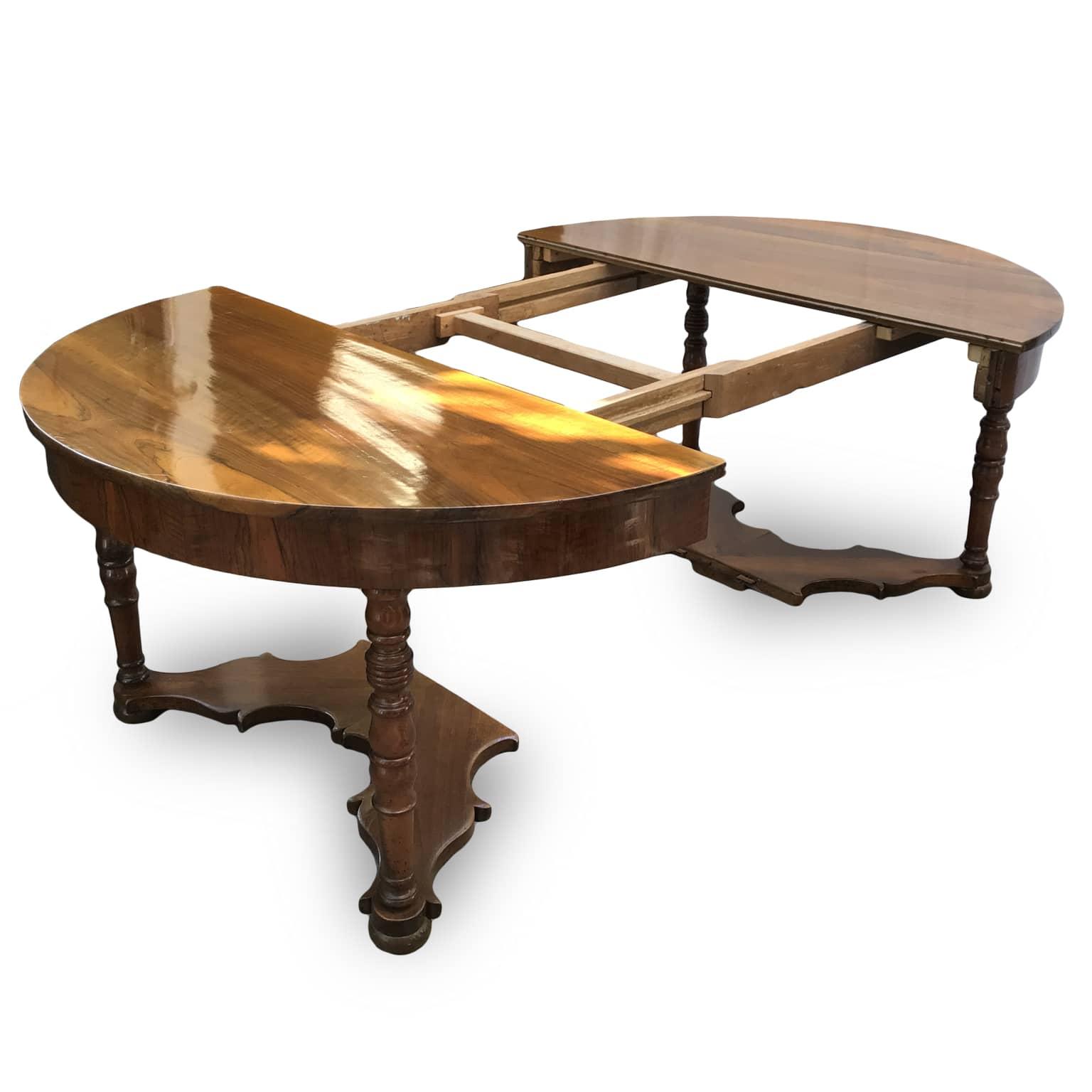 Tavolo Antico Allungabile Antiquariato.Tavolo Antico In Noce Allungabile Per Sala Da Pranzo
