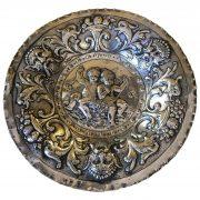 Piatto-In-Argento-con-Bambini-e-Grottesche-1800