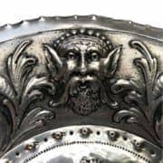 Piatto-In-Argento-con-Bambini-e-Grottesche-1800-a