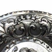 Piatto-In-Argento-con-Bambini-e-Grottesche-1800-c