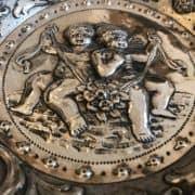 Piatto-In-Argento-con-Bambini-e-Grottesche-1800-i