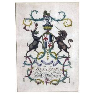 Alexander Jacobs, Stemma di Lord Fauconberg, Londra 1766-69