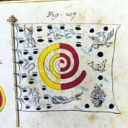 Bandiere Marittime dall'Enciclopedia di Diderot e D'Alembert, 1770 circa 2