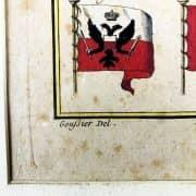 Bandiere Navali dall'Enciclopedia di Diderot e D'Alembert, 1770 circa b
