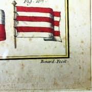 Bandiere Navali dall'Enciclopedia di Diderot e D'Alembert, 1770 circa c