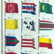 Bandiere Marittime dall'Enciclopedia di Diderot e D'Alembert, 1770 circa 3