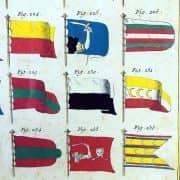 Bandiere Marittime dall'Enciclopedia di Diderot e D'Alembert, 1770 circa 4