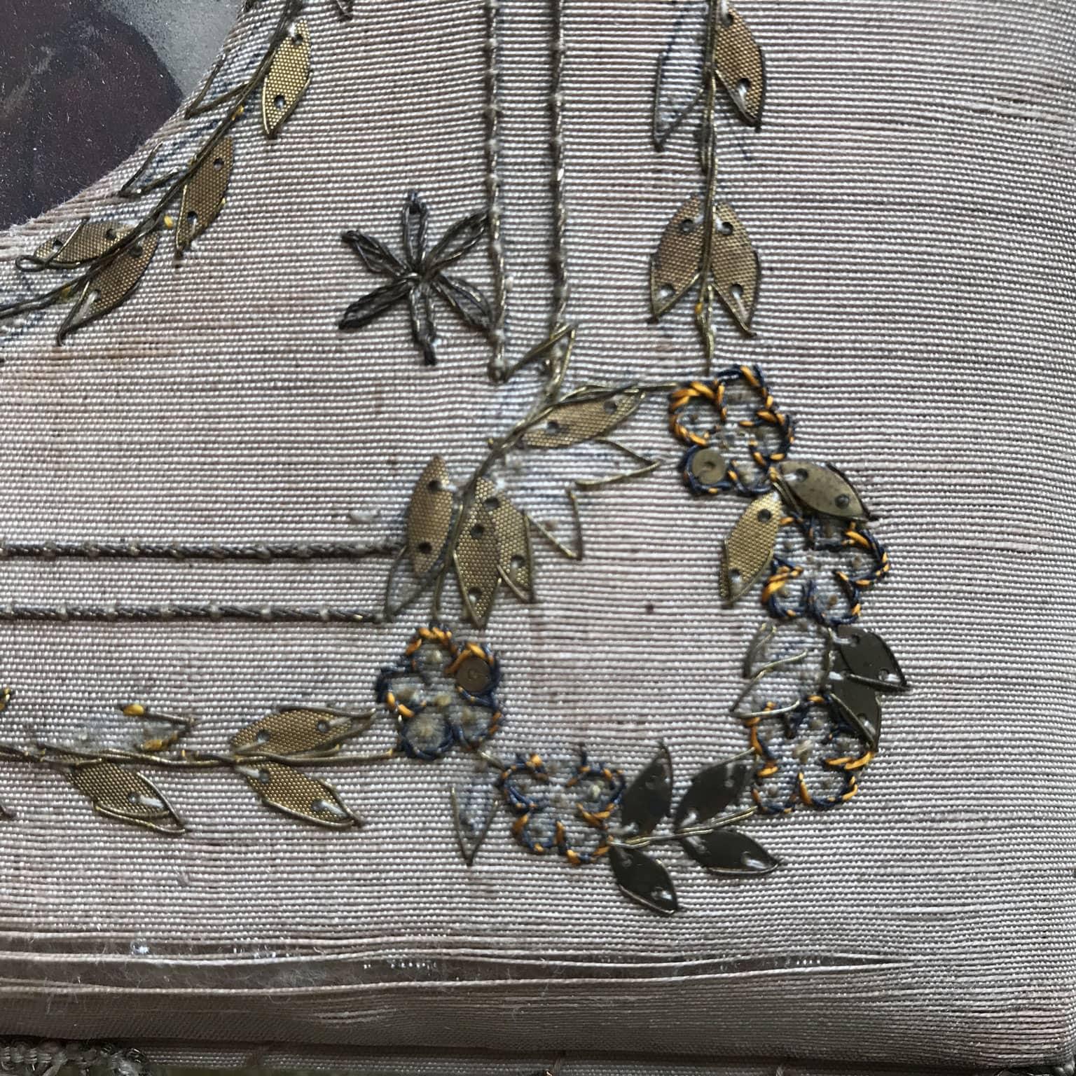 Originale portaritratti d 39 epoca da parete a quattro scomparti for Portaritratti legno