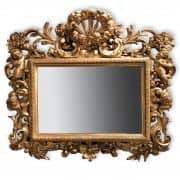 specchiera antica dorata