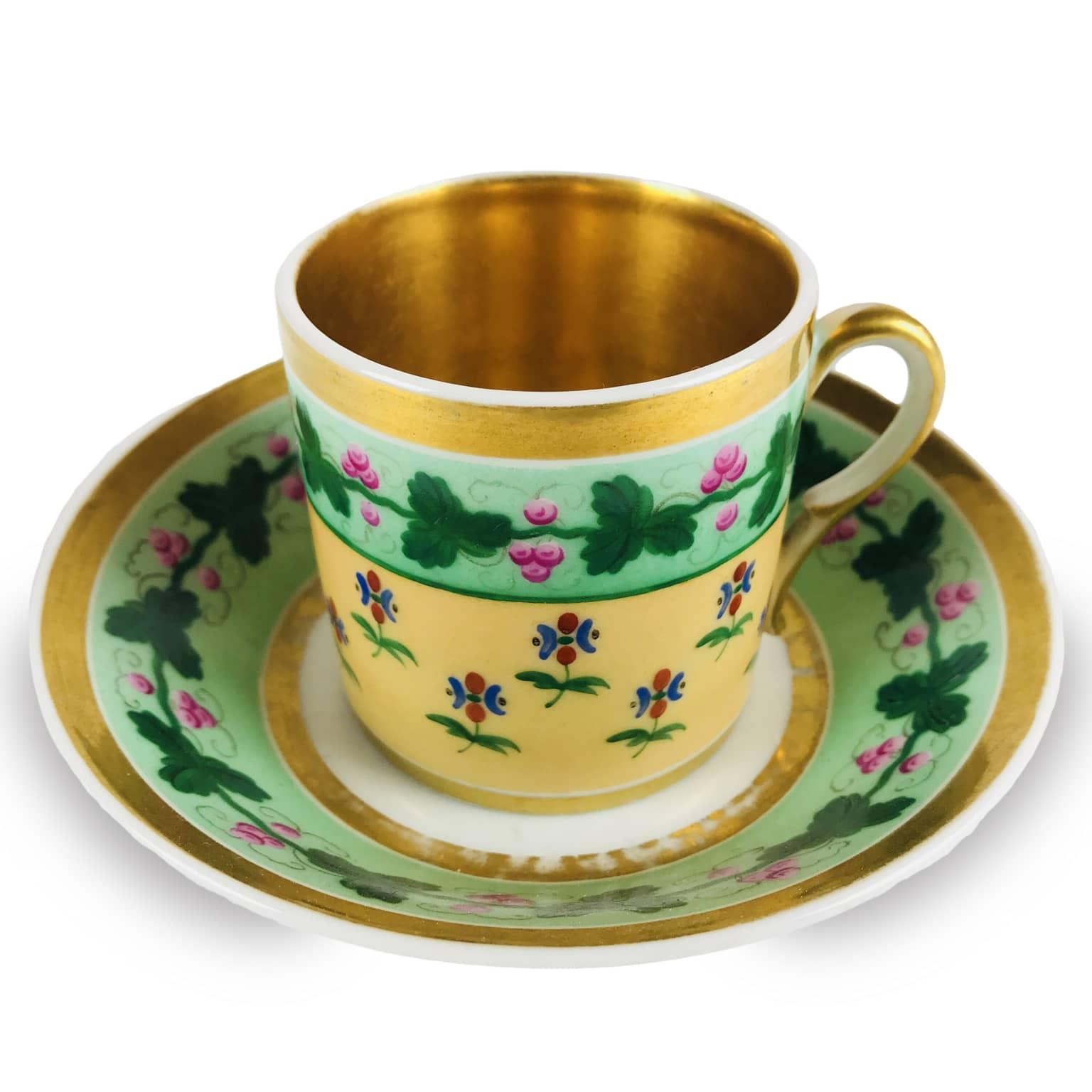 Tazzina da Caffè Antica in Porcellana