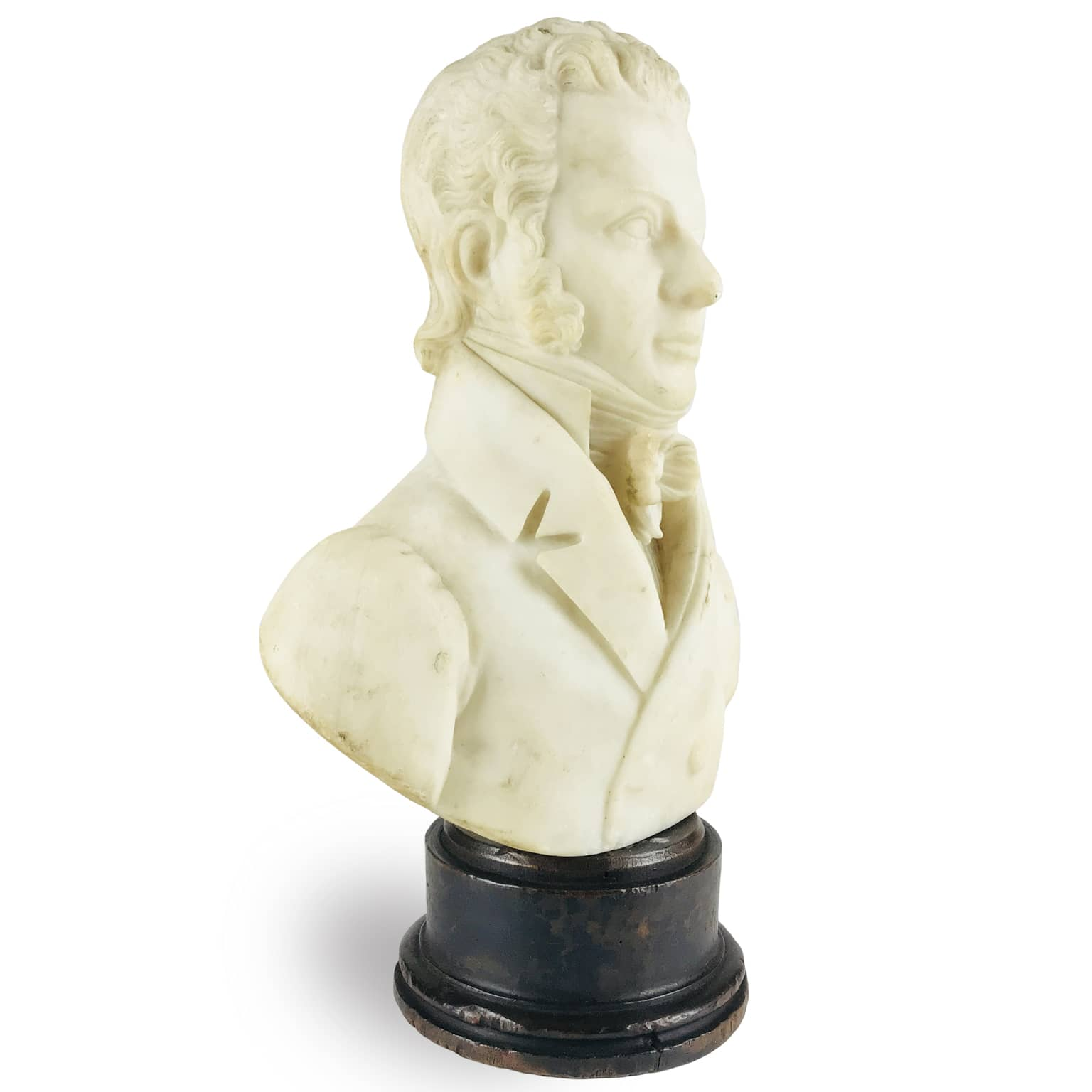 Busto-Virile-in-Alabastro-firmato-Tabacchi