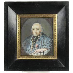 Miniatura-di-Prelato-del-1800