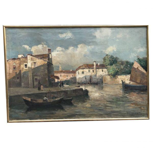 A Visconti Veduta di un Canale