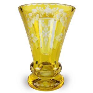 Bicchiere-a-tromba-in-cristallo-molato-degli-inizi-del-1900