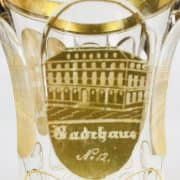 Calice-Termale-Biedermaier-in-Vetro-Decorato-in-Oro-1830-circa-3